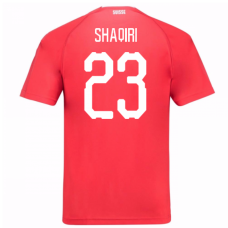 Switzerland 2018 Home Jersey (Shaqiri 23)