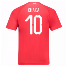Switzerland 2018 Home Jersey (Xhaka 10)