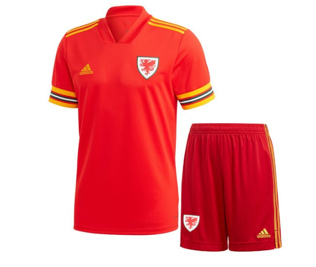 Wales 2020 Home Kit - Kids